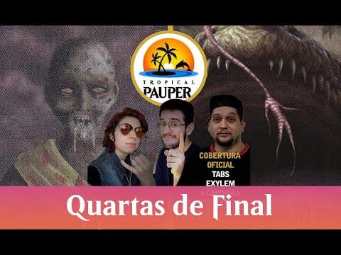 Dimir Delver VS  Orzhov Pestilence - Tropical Pauper - Narração ao vivo - Quartas de final