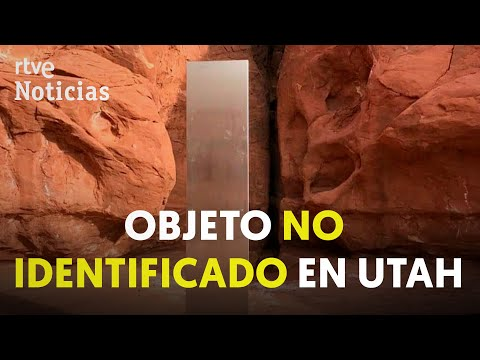 El misterio del MONOLITO del desierto de UTAH: hablan los AGENTES que lo encontraron | RTVE Noticias