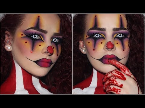 Sultry/Creepy Clown | Halloween Makeup Tutorial - UCIUU3PJrzLBocsGPkFtQzFA