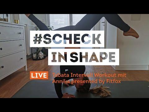40. Tabata mit Anni  | #ScheckInShape | SportScheck