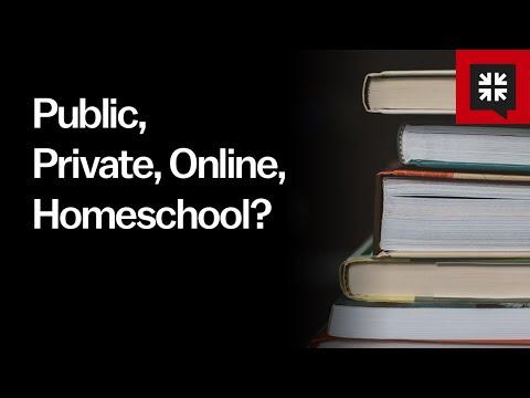 Public, Private, Online, Homeschool? // Ask Pastor John