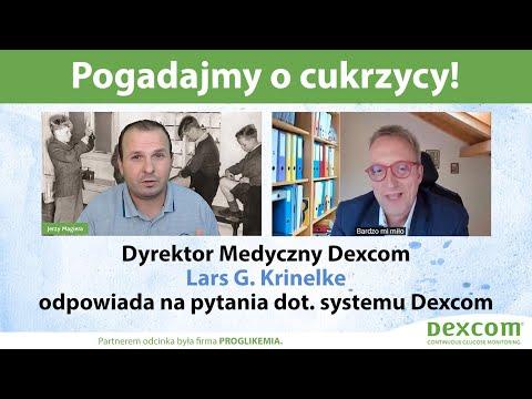 Pogadajmy o cukrzycy: Dyrektor Medyczny Lars G. Krinelke odpowiada na pytania dot. systemu Dexcom