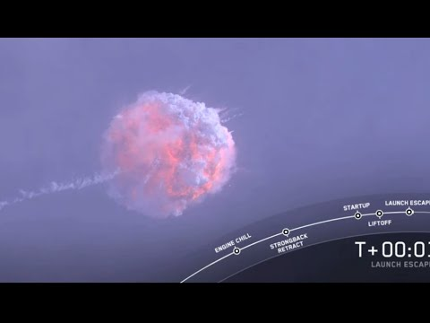Watch a SpaceX rocket blow up during abort test - UCVTomc35agH1SM6kCKzwW_g
