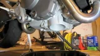 Cambio olio e filtro Ducati Monster 696