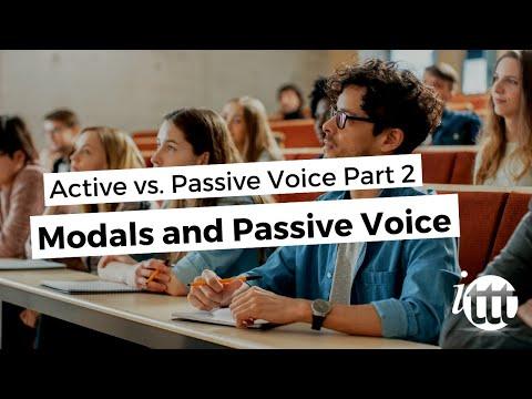 Modals and Passive Voice - Active vs. Passive Voice Part 2