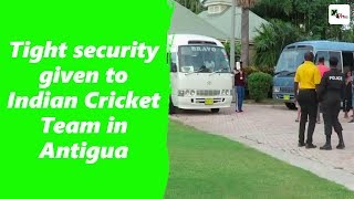 Watch: Indian cricketers safe in Antigua, security tightened