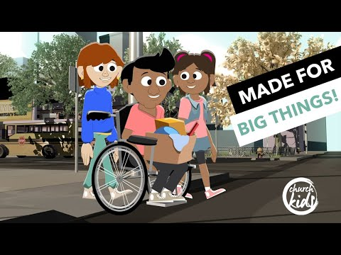 ChurchKids: Made for Big Things!