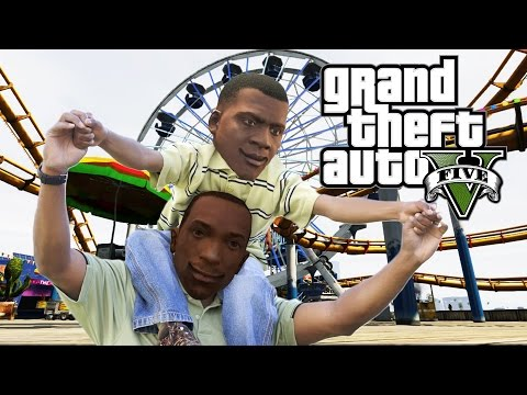 Is Franklin CJ's Son? GTA 5 Game Theory - default