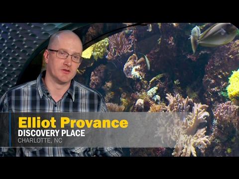 Structural Fiberglass Applications: Discovery Place Science Aquarium | BedfordReinforced.com