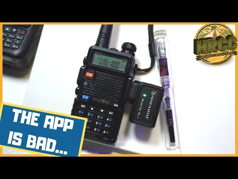 TIDRADIO BL-1 Bluetooth Baofeng Programmer - Flawed Execution, Poor Software