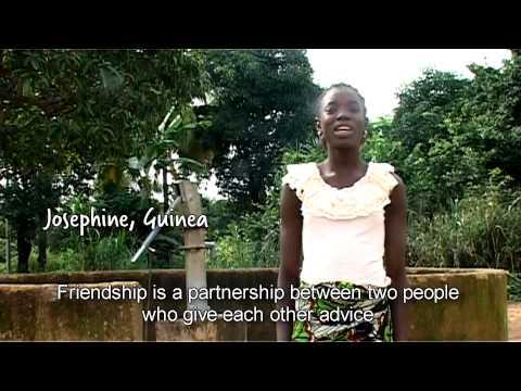 Children tell us what friendship is
