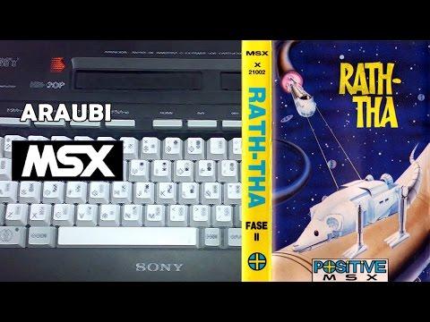 Rath-Tha (Positive, 1989) MSX [182] Walkthrough