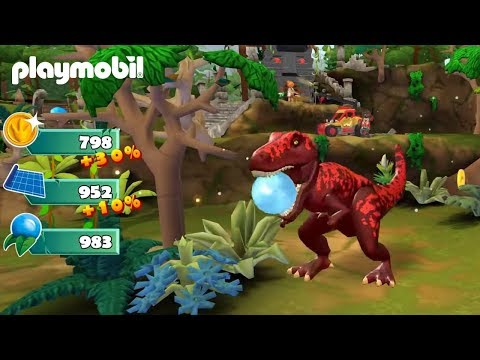 PLAYMOBIL Dinos App Trailer