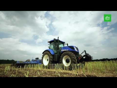 Meilensteine der Landtechnik going green – New Holland