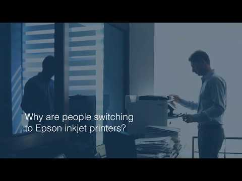 Save time with Epson Heat-Free Technology