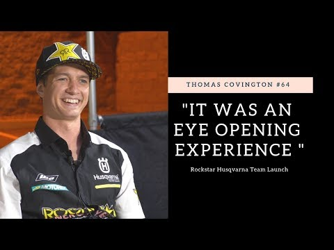 """It was eye opening"" Thomas Covington Rockstar Racing Intro - Motocross Action Magazine"
