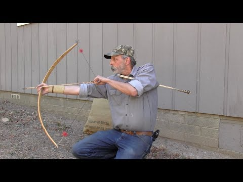 How To Shoot A Bow Ishi Style