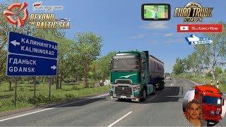 Euro Truck Simulator 2 (1.35) Renault Range T Gdansk Poland to Kaliningrad Russia + DLC's & Mods