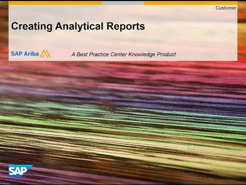Reporting Overview: Running and Creating Reports Upstream