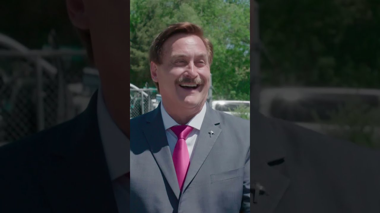 Pillow talk with Mike Lindell and Jordan Klepper #shorts