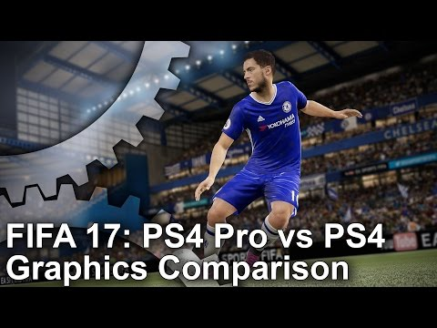 [4K] FIFA 17 PS4 Pro vs PS4 Graphics Comparison - UC9PBzalIcEQCsiIkq36PyUA