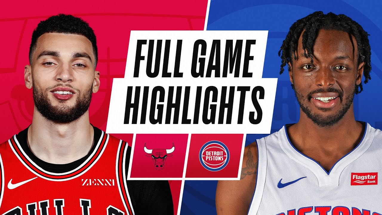 BULLS at PISTONS | FULL GAME HIGHLIGHTS | March 21, 2021
