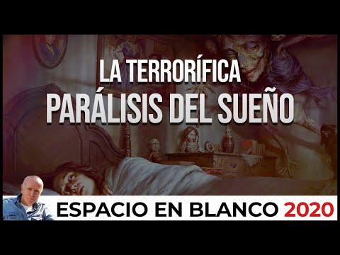 Espacio en Blanco – La terrorífica parálisis del sueño (29/11/2020)