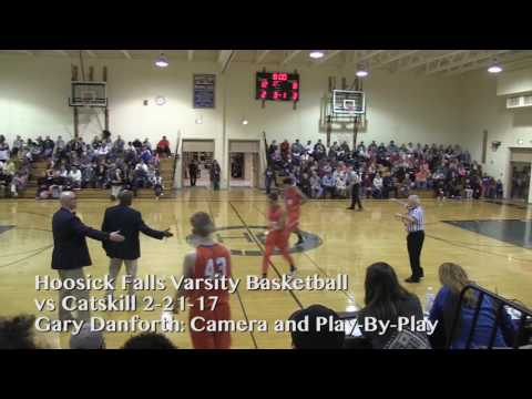 Hoosick Falls Basketball - 2/21/17