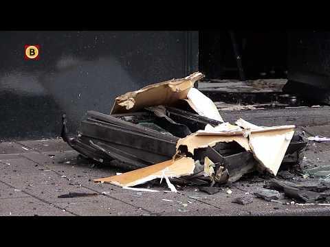 Schade groot aan kebabzaak door brand