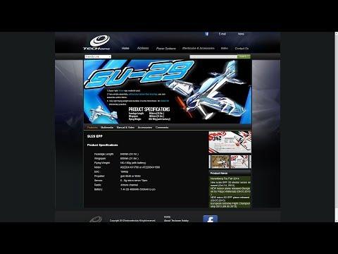 TechOne SU29 EPP - Time-Lapse & Maiden Flight - UCz3LjbB8ECrHr5_gy3MHnFw