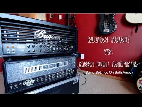 Bugera TriRec vs. Mesa Dual Rectifier - Metal
