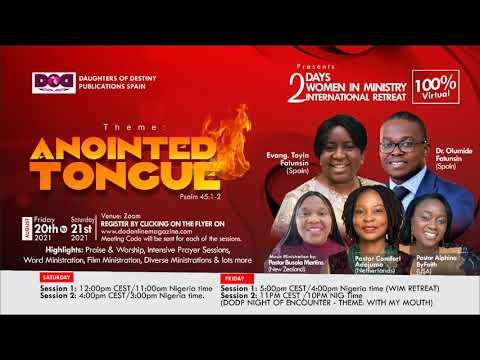 Women in Ministry August Retreat.