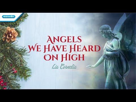 Angels We Have Heard On High - Lia Cornelia (with lyric)