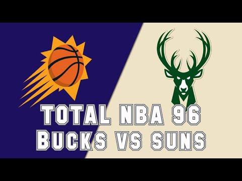 Total NBA 96 (1996) - PlayStation - Suns vs Hawks