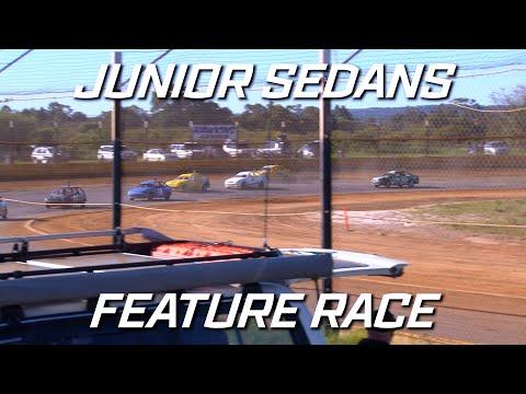 Junior Sedans Top Stars: A-Main - Ellenbrook Speedway - 05.09.2021 - dirt track racing video image