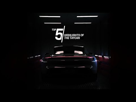 Porsche Top 5 Series: Highlights of the Taycan