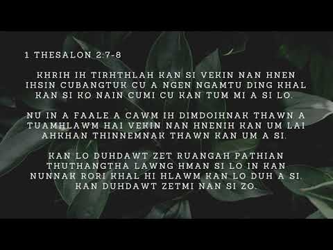 DEVOTION NI (15) NAK  THUTHANGHA LE NUNNAK RORI HLAWMNAK