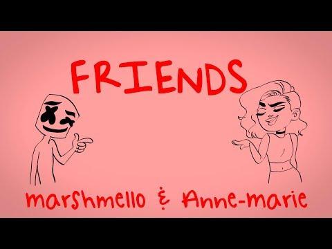 Marshmello & Anne-Marie - FRIENDS (Lyric Video) *OFFICIAL FRIENDZONE ANTHEM* - UCEdvpU2pFRCVqU6yIPyTpMQ
