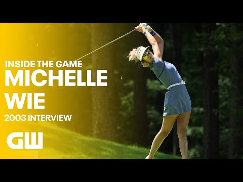 Chatting With Michelle Wie in 2003| Golfing World