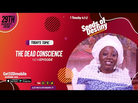 Dr Becky Paul-Enenche - SEEDS OF DESTINY - SATURDAY AUGUST 29, 2020