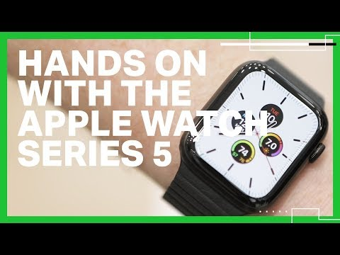 Hands-on with the Apple Watch Series 5