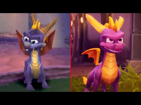 Spyro the Dragon: 1998 vs. 2018 - UCKy1dAqELo0zrOtPkf0eTMw