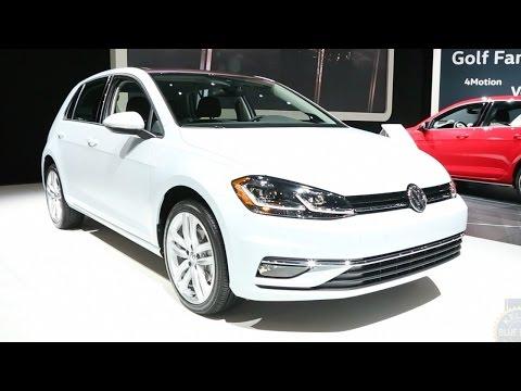 2018 Volkswagen Golf - 2017 New York Auto Show