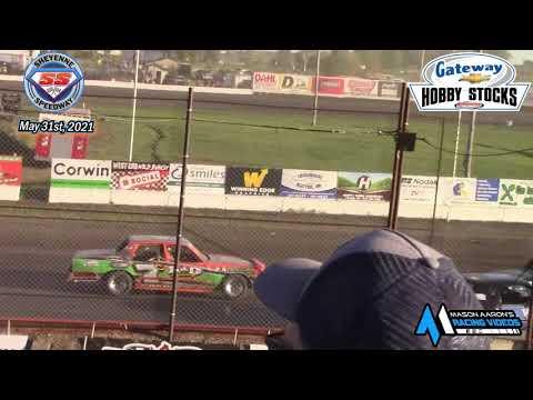 Sheyenne Speedway Hobby Stock A-Main (5/31/21) - dirt track racing video image