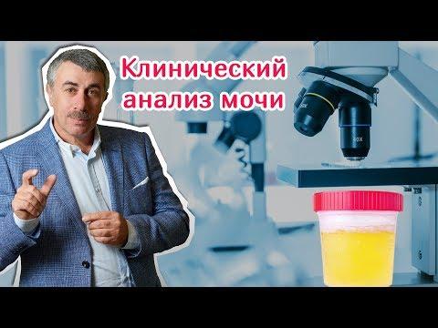 Клинический анализ мочи | Доктор Комаровский