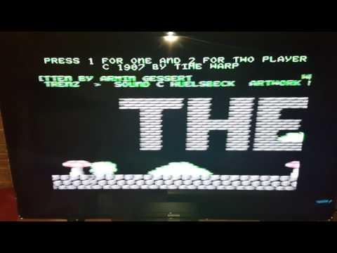 Probando el Tapuino edición Arananet en castellano 👍 para Commodore C64 🕹