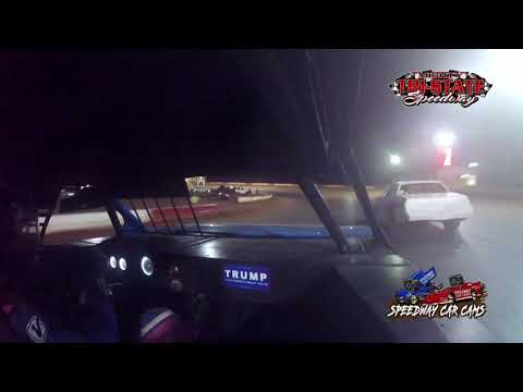 #4T Tate Abernathy - USRA Factory Stock - 9-11-2021 Tri-State Speedway - In Car Camera - dirt track racing video image