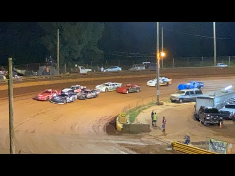 8/20/2021 Modified Street Lavonia Speedway - dirt track racing video image