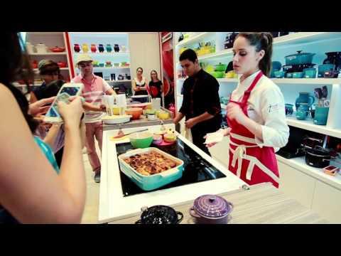 Receita de Natal - Chef Tati Mendes na Le Creuset Flamboyant