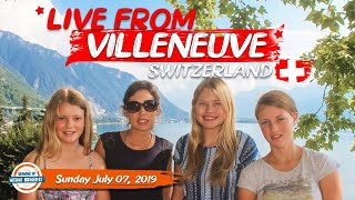 Live from Switzerland! Join us for our Saturday Q&A | 90+ Countries with 3 Kids